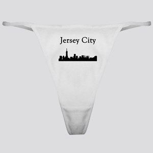 Jersey City Skyline Classic Thong