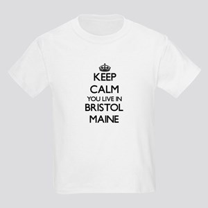 Keep calm you live in Bristol Maine T-Shirt