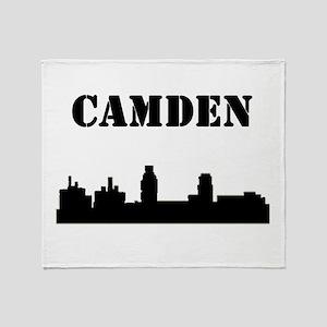 Camden Skyline Throw Blanket