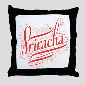 Sriracha Throw Pillow