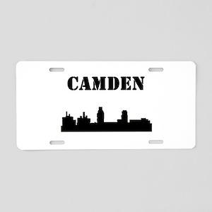 Camden Skyline Aluminum License Plate