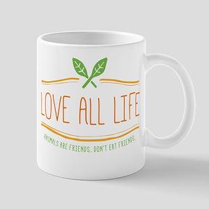 Love All Life Mugs