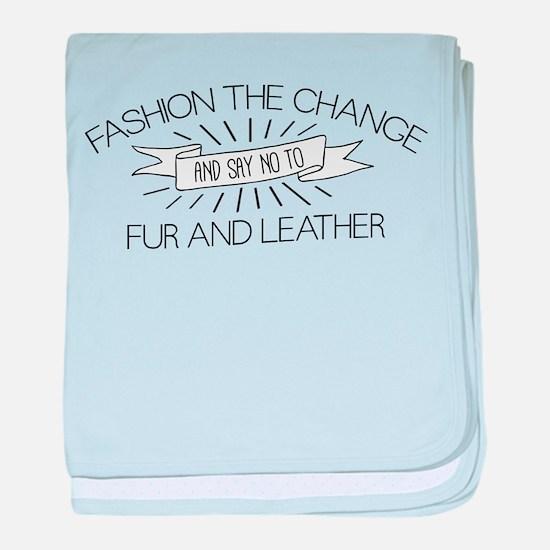 Fashion the Change baby blanket