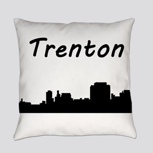 Trenton Skyline Everyday Pillow