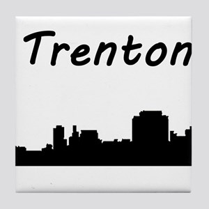 Trenton Skyline Tile Coaster