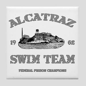 Alcatraz Swim Team Tile Coaster