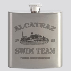 ALCATRAZ SWIM TEAM Flask