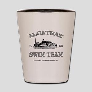 ALCATRAZ SWIM TEAM Shot Glass