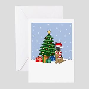 Malinois Season's Best Greeting Cards (Pk of 20)