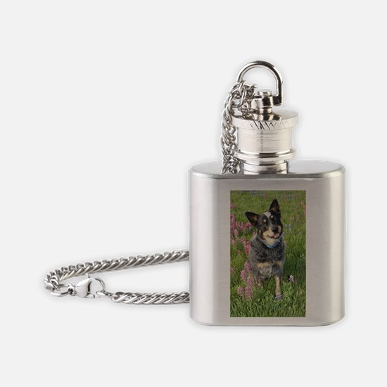 Cute Heel Flask Necklace
