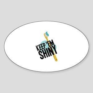 Keep Em Shiny Sticker