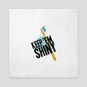 Keep Em Shiny Queen Duvet