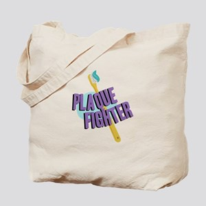 Plaque Fighter Tote Bag