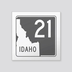 "Route 21, Idaho Square Sticker 3"" x 3"""