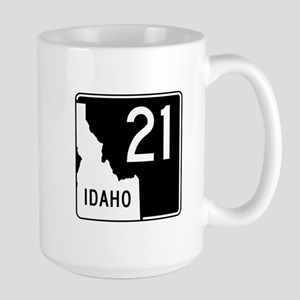Route 21, Idaho Large Mug