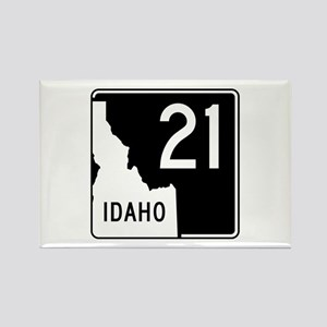 Route 21, Idaho Rectangle Magnet