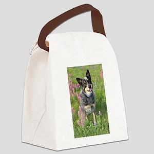 Australian Blue Heeler Canvas Lunch Bag