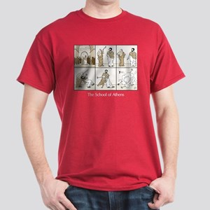 Basic School of Athens Dark T-Shirt