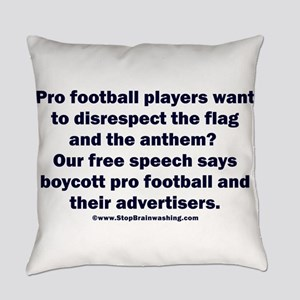 And the customer's free speech? Everyday Pillow
