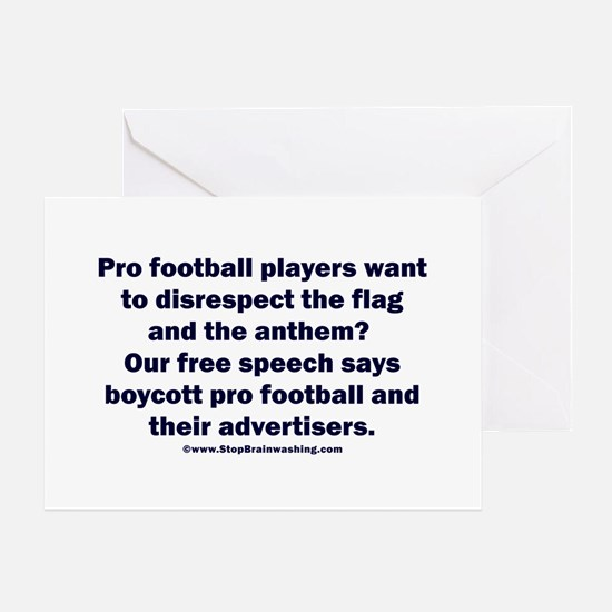 And the customer's free speech? Greeting Card