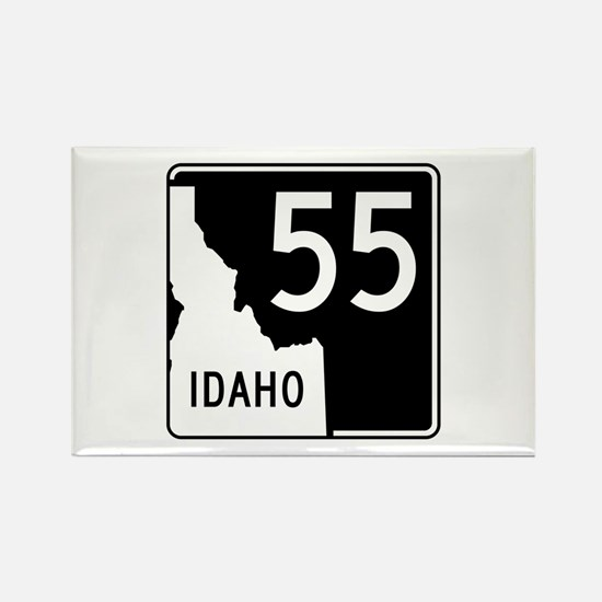 Route 55, Idaho Rectangle Magnet