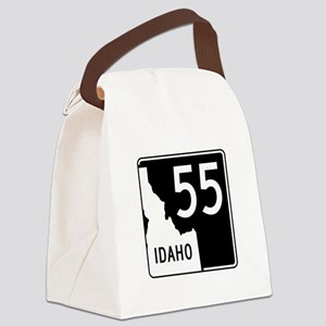 Route 55, Idaho Canvas Lunch Bag
