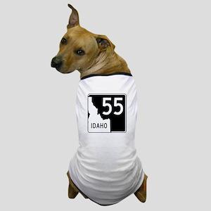 Route 55, Idaho Dog T-Shirt