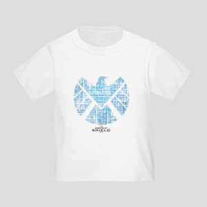 SHIELD Logo Alien Writing Toddler T-Shirt