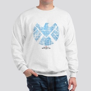 SHIELD Logo Alien Writing Sweatshirt