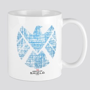 SHIELD Logo Alien Writing Mug