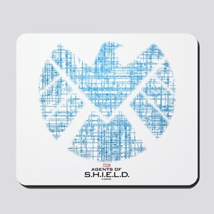 SHIELD Logo Alien Writing Mousepad