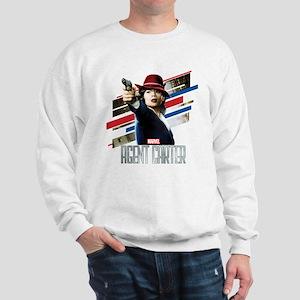 Agent Carter Stripes Sweatshirt