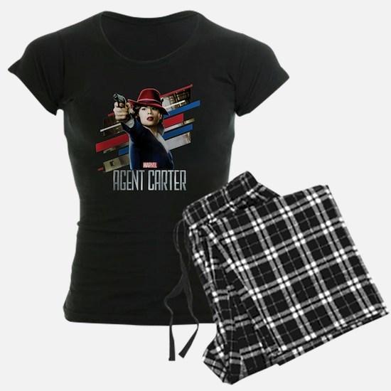 Agent Carter Stripes Pajamas