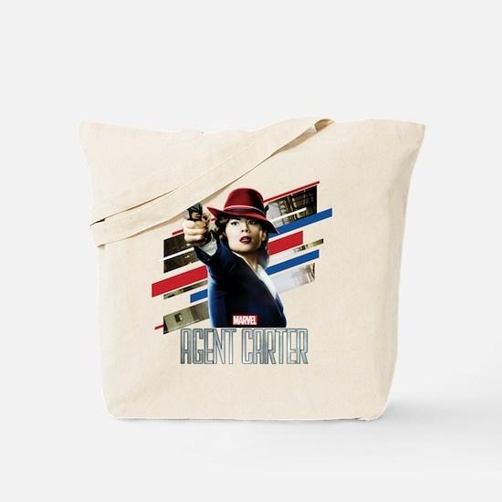 Agent Carter Stripes Tote Bag
