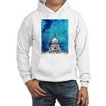 Stormy Weather Over The Capitol Hoodie