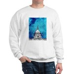 Stormy Weather Over The Capitol Sweatshirt