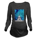 Stormy Weather Over The Capitol Long Sleeve Matern