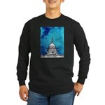 Stormy Weather Over The Capitol Long Sleeve T-Shir
