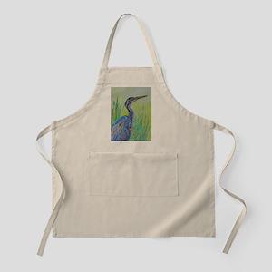 Purple Heron Apron