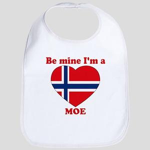 Moe, Valentine's Day Bib