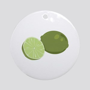 Lime Ornament (Round)