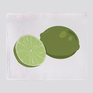 Lime Throw Blanket