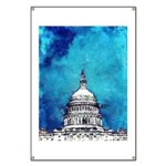 Stormy Weather Over The Capitol Banner