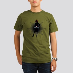 Agent Carter Solo Organic Men's T-Shirt (dark)