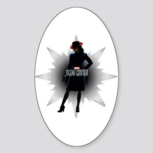 Agent Carter Solo Sticker (Oval)