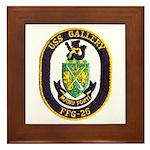 USS GALLERY Framed Tile