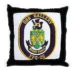USS GALLERY Throw Pillow