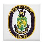 USS GALLERY Tile Coaster