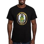 USS GALLERY Men's Fitted T-Shirt (dark)