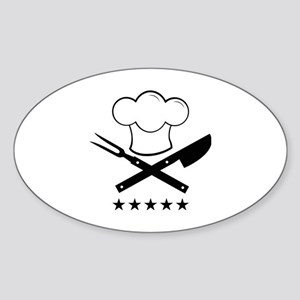 Cook Sticker (Oval)